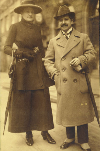 14. Therese Behr e Artur Schnabel, Berlin 1910. Schnabel Music Foundation.jpg