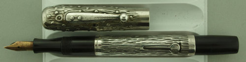 Waterman #452 tree trunk pattern .JPG