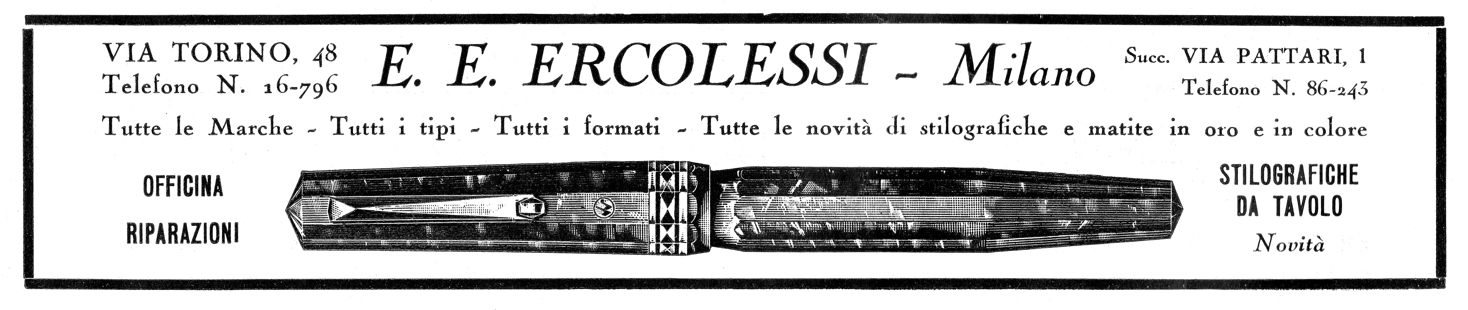 6. ERCOLESSI - Wahl Eversharp Doric prima serie - 1933-03. Anno 29 N.339, pag.41.jpg