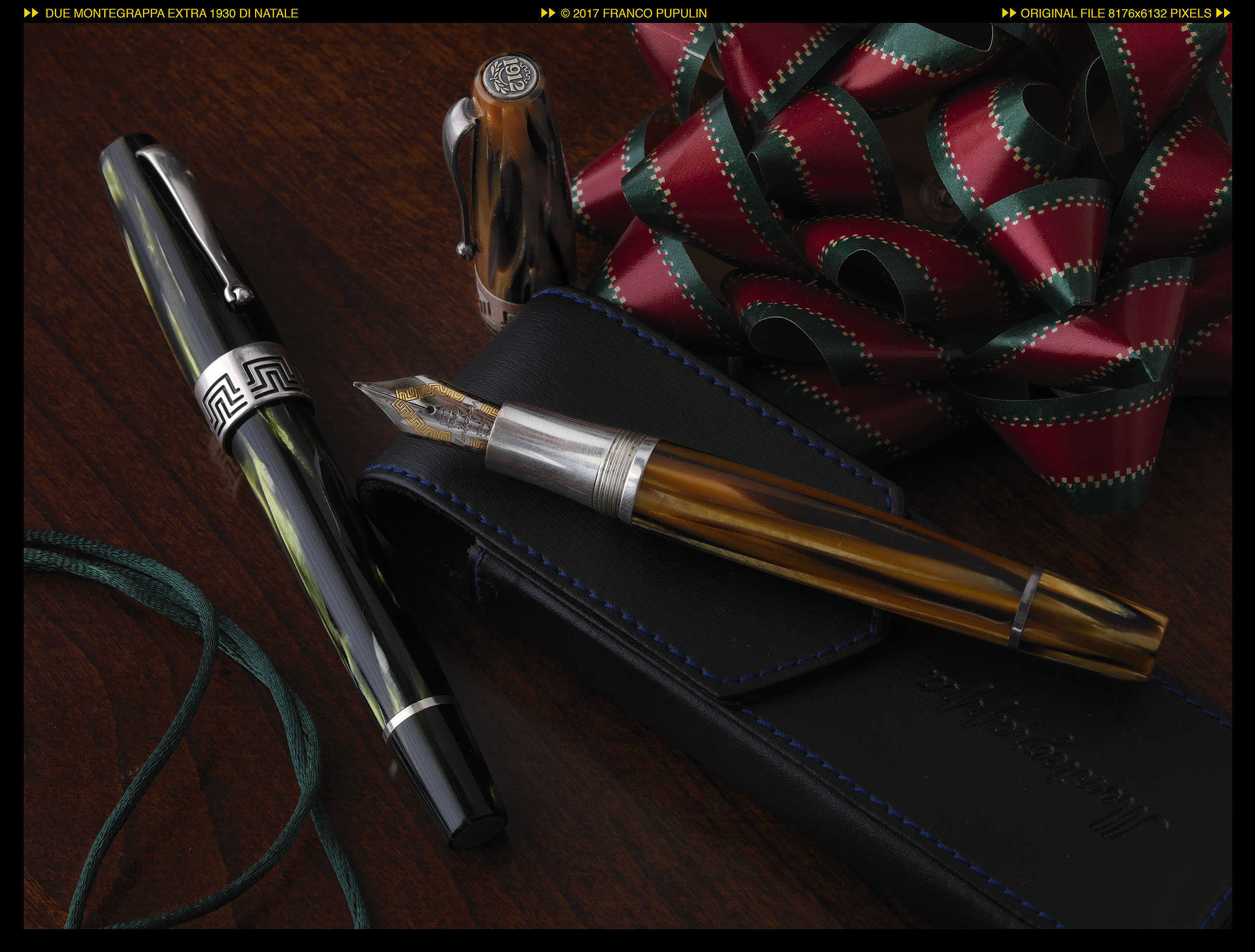 Due Montegrappa Extra 1930 di Natale ©FP.jpg