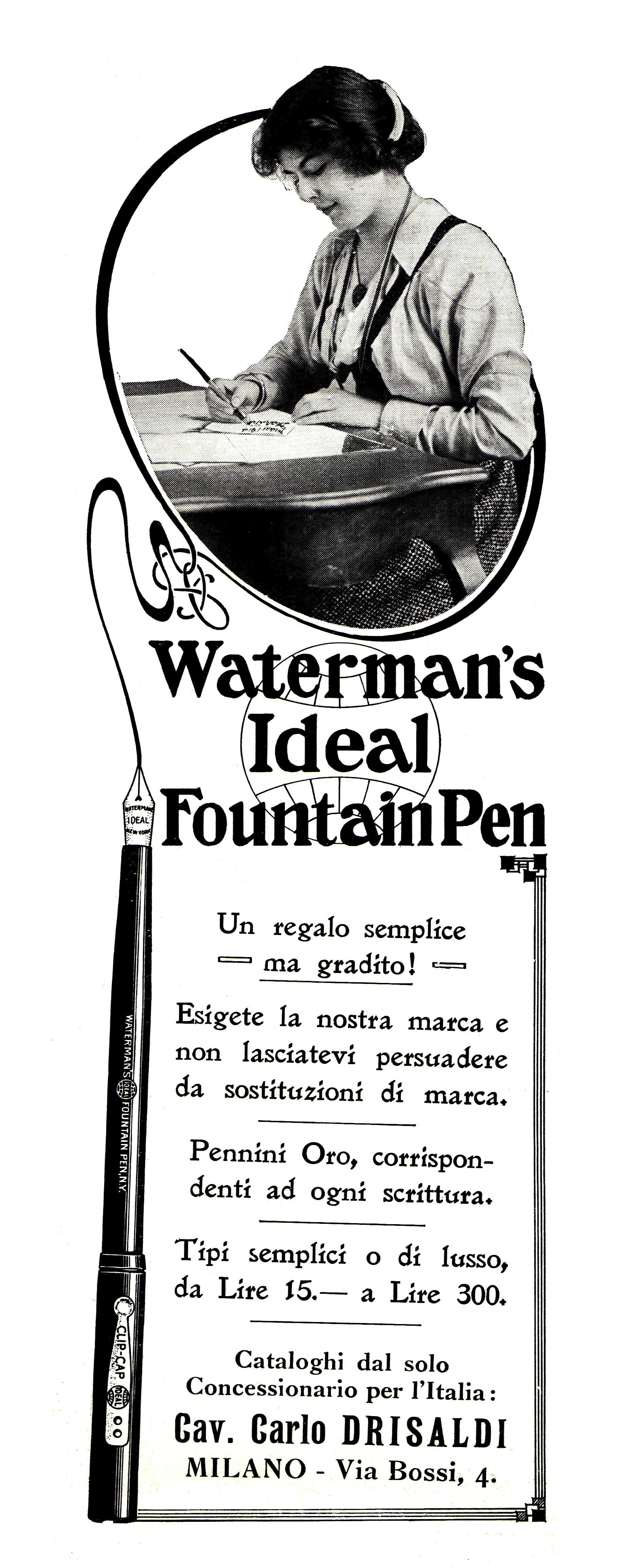 WATERMAN - Eyedropper 1x - 1915-05-23. L'Illustrazione Italiana, Anno XLII N.21, pag.428.jpg