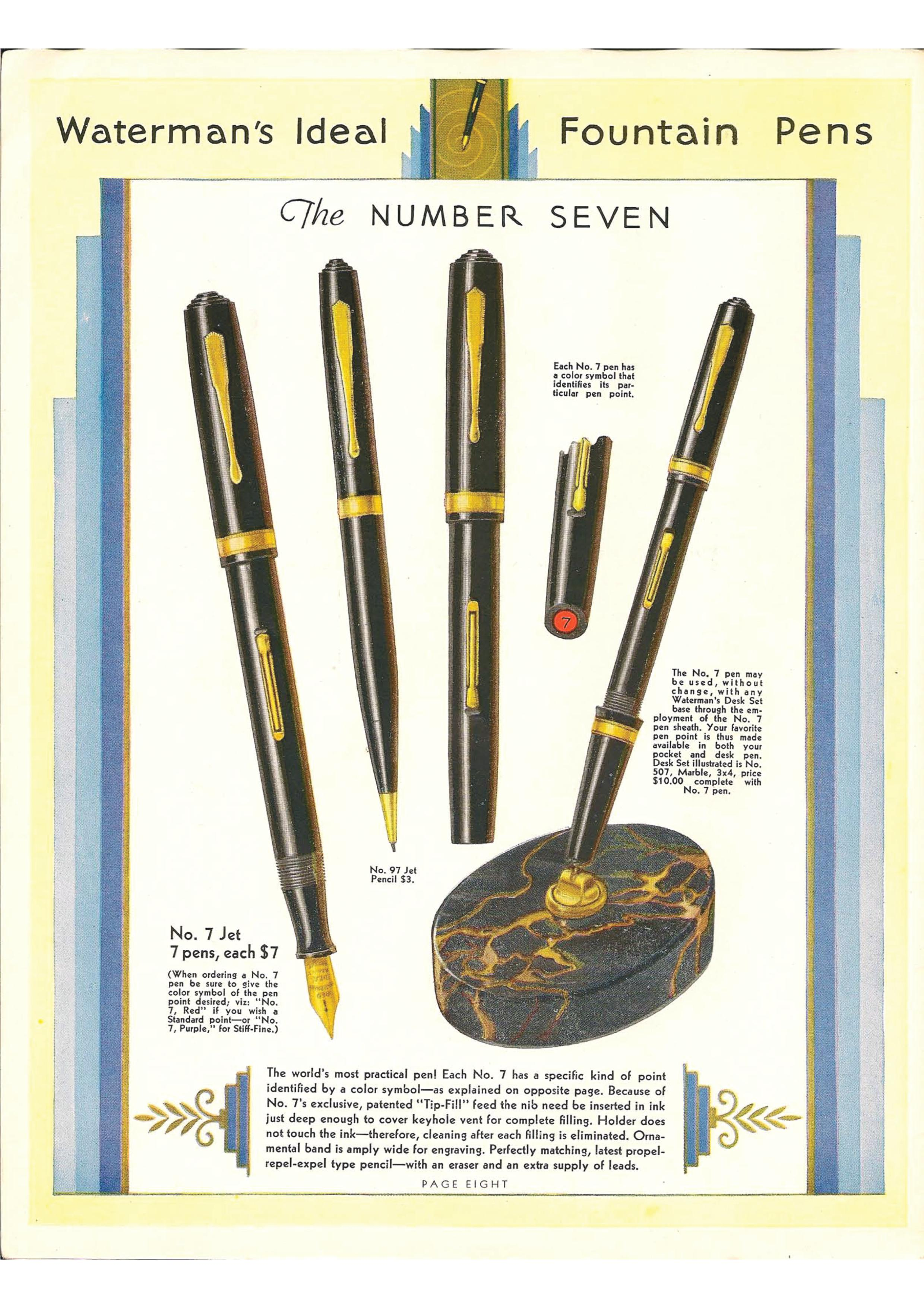 Waterman Pen Catalog 1933 - Pag.8.jpg