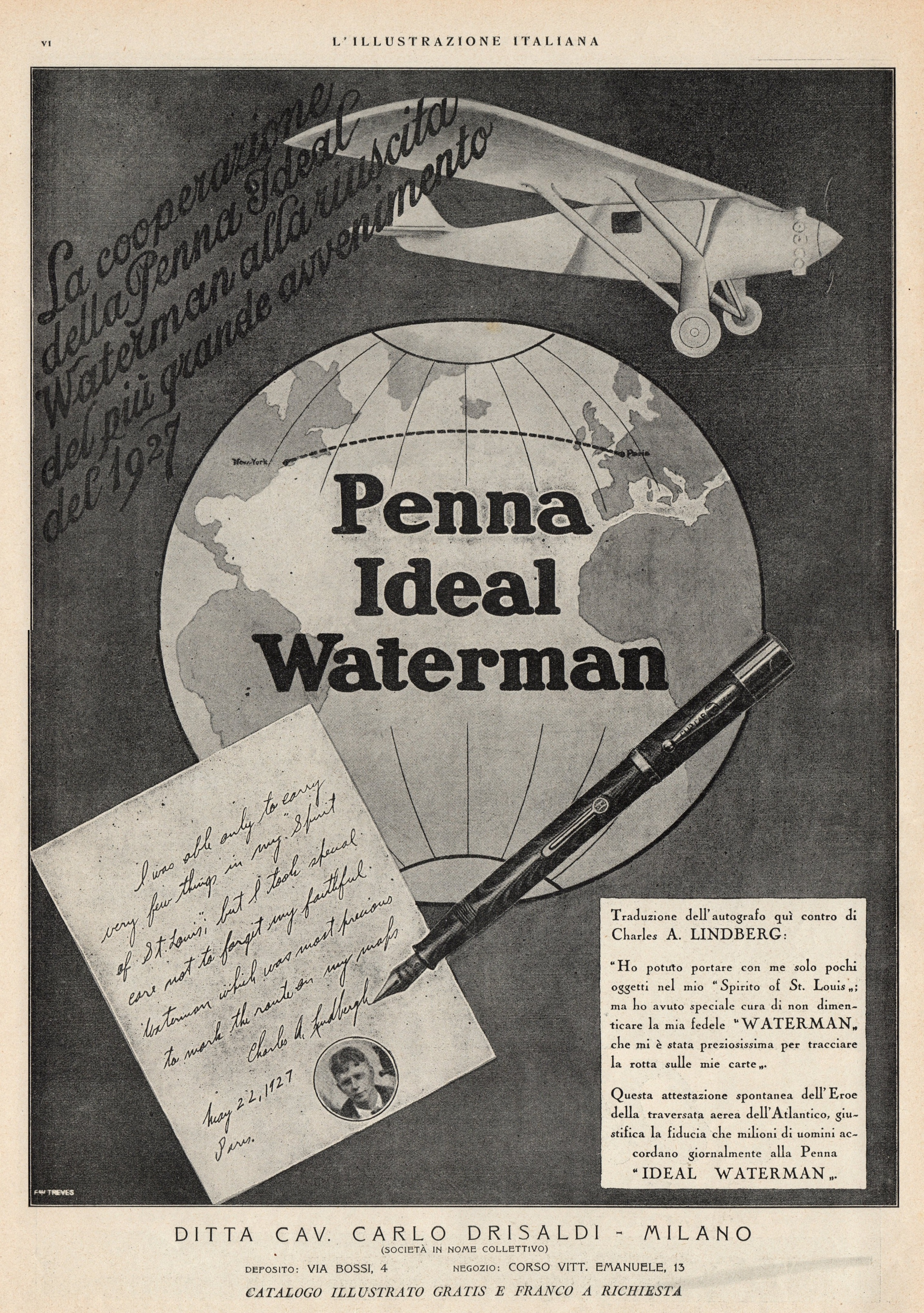 WATERMAN - 5x. 1927-12-25 -L'Illustrazione Italiana Anno LIV- n.52, pagVI.jpg
