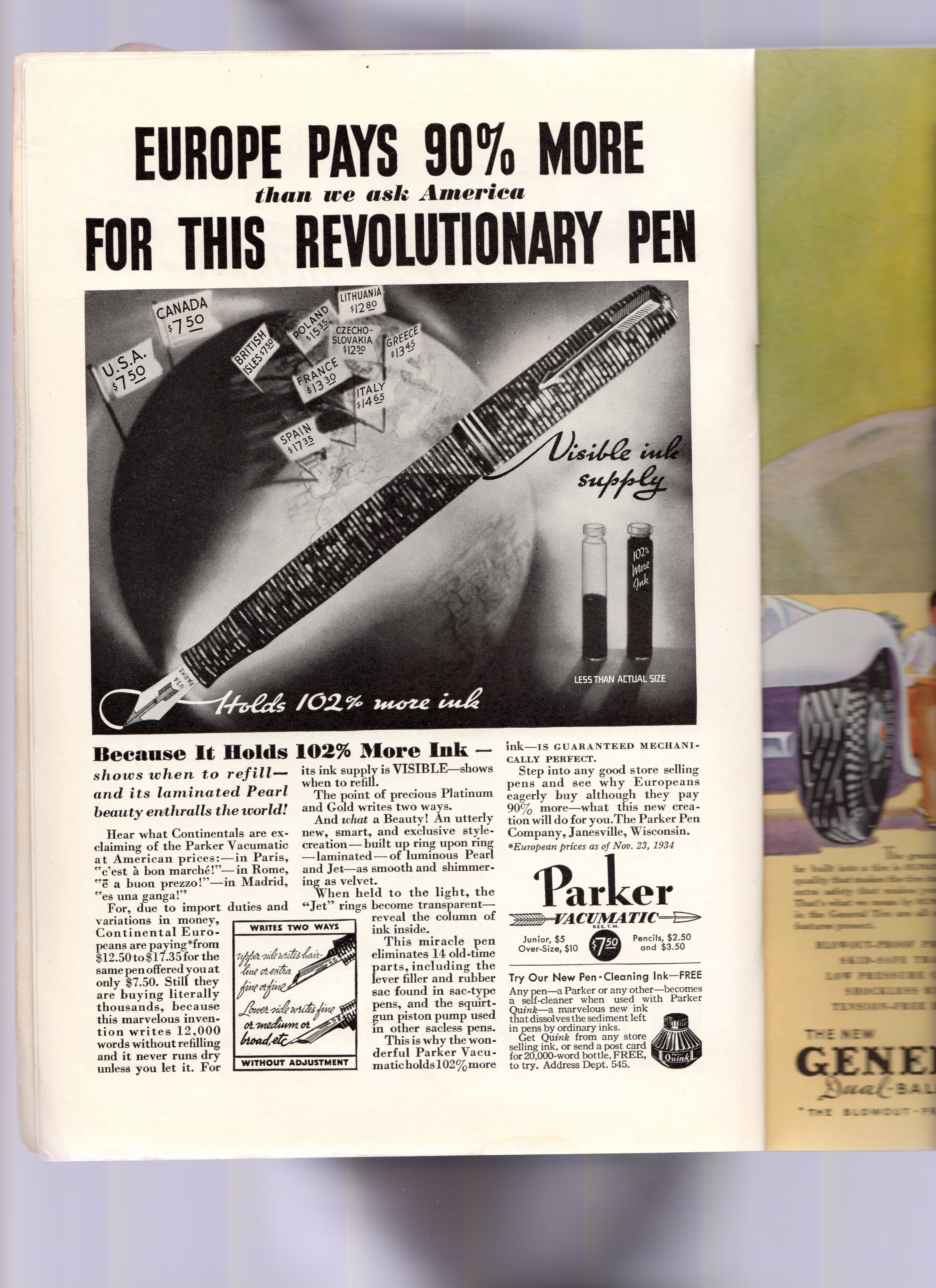 53. 1935. PARKER - Vacumatic -1935-04. The National Geographic magazine. Volume LXVII, N.4.jpg
