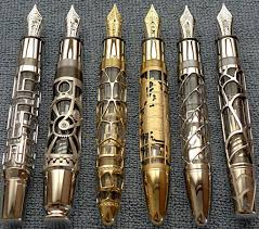 MB Skeleton x 6 - httptwistedsifter.com201201picture-of-the-day-gorgeous-skeleton-pens-by-montblanc.jpg