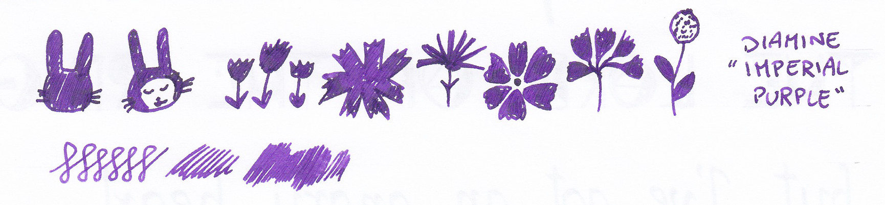 Diamine Imperial Purple doodle Flowers 01 psd.jpg