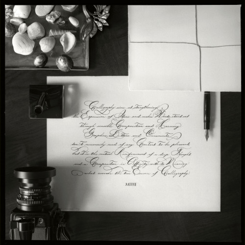 Montblanc 149 Calligraphy wrote Calligraphy aims 6x6.jpg